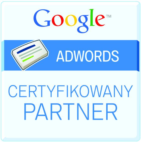 Certyfikowany Partner Google Adwords