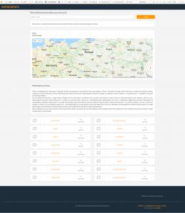 Wyszukiwarka kodów pocztowych MapaKodow.pl